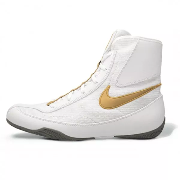 NIKE-MACHOMAI 2 BOXING BOOTS White/Gold