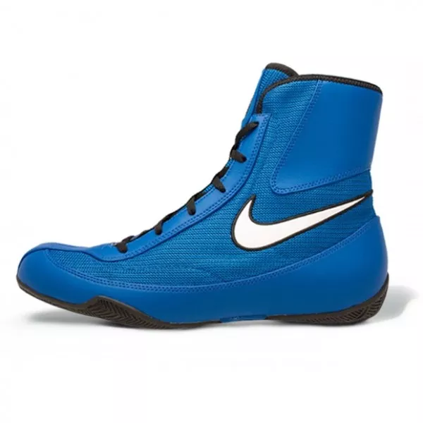 NIKE-MACHOMAI 2 BOXING BOOTS Blue/White