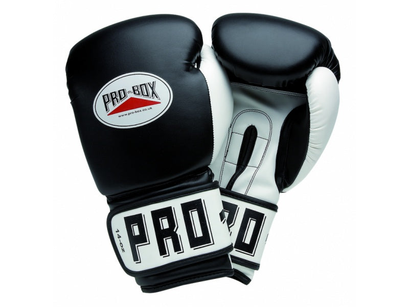 PROBOX-JUNIOR BLACK PU CLUB ESSENTIALS GLOVES