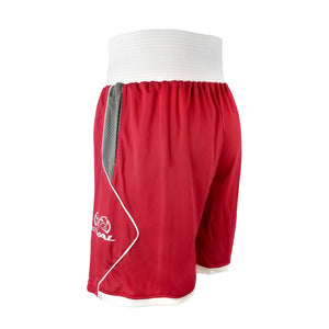 RIVAL-AMATEUR RED COMPETITION/TRAINING BOXING TRUNKS