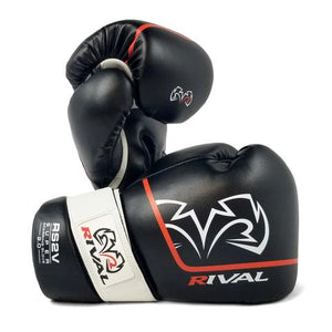 RIVAL-RS2V BLACK SUPER SPARRING GLOVES 2.0