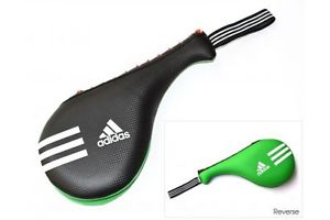 ADIDAS-Double Target Pad Smaller Version - Black/Green