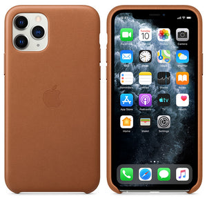 Coque iPhone 11 en cuir