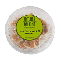 Apricot & Coconut Slices - 200g