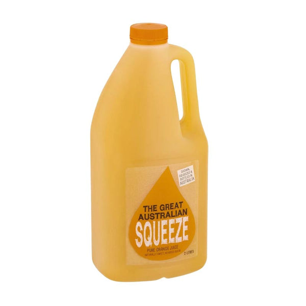 Great Australian Squeeze Orange Juice - 2 Litre