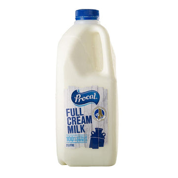 Procal Full Cream Milk - 2 Litres
