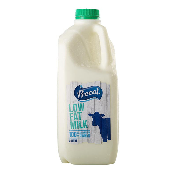 Procal Reduced Fat Milk - 2 Litres