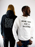 More Than Just Hashtag • Black-ish + White Hoodie