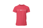 Victorious • Red Heather + White Tee