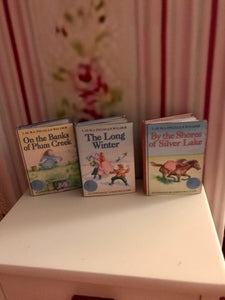 Prairie Miniature Book set for American Girl 18 inch Dolls