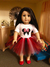 Load image into Gallery viewer, Mouse Ears Castle Tshirt & Tutu for American Girl Dolls