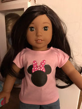 Load image into Gallery viewer, Mouse Ears Doll Tshirts for American Girl Dolls