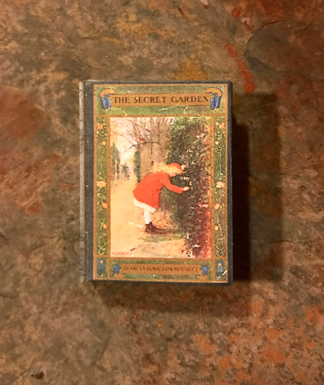 The Secret Garden doll sized mini book for American Girl Dolls 1:3 Scale
