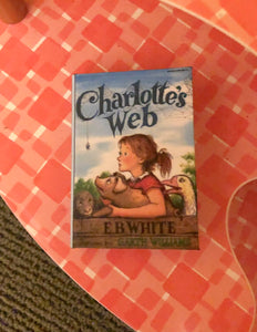 1:3 Scale Charlotte's Web doll sized miniature book for American Girl Dolls