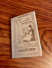 Load image into Gallery viewer, Mini Historical School Books for American Girl Dolls: McGuffey's Reader & Ray's Intellectual Arithmetic