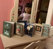 Load image into Gallery viewer, Miniature Classic Books for American Girl Samantha 18 in Doll Book 1:3 Scale