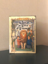 Load image into Gallery viewer, 1:3 Scale Chronicals of Narnia, The Lion The Witch and the Wardrobe doll sized mini book for American Girl Dolls