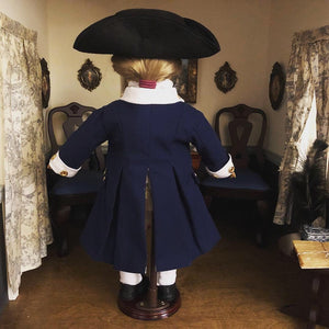 Made To Order: George Washington Revolutionary War Uniform  for American Girl Dolls