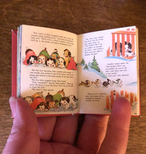 Load image into Gallery viewer, 1:3 Scale Poky Puppy's 1st Christmas doll sized mini book for American Girl Dolls
