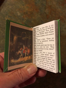 1:3 Scale Robin Hood doll sized mini book for American Girl Dolls