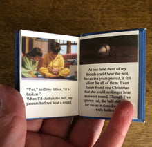 Load image into Gallery viewer, The Polar Express 1:3 Scale doll sized mini book for American Girl Dolls