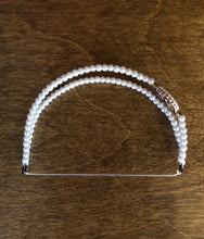 Load image into Gallery viewer, Pearl Double Strand Diamond Embellished Headband for American Girl 18 inch Dolls