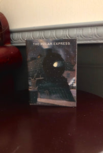 The Polar Express 1:3 Scale doll sized mini book for American Girl Dolls