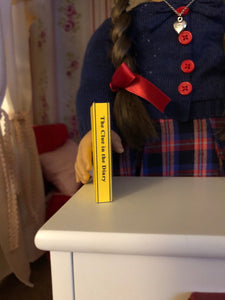 "The Clue in the Diary mini 1:3 scale book for American Girl 18"" Dolls"