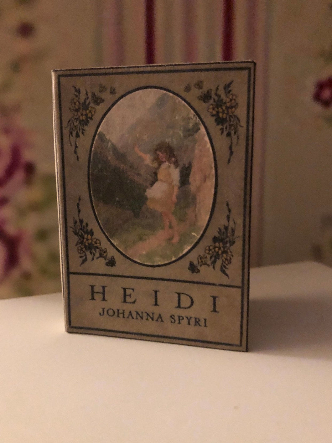 1:3 Scale Heidi doll sized mini book for American Girl Dolls