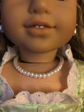 Load image into Gallery viewer, Beaded Pearl Necklace for American Girl Doll Elizabeth