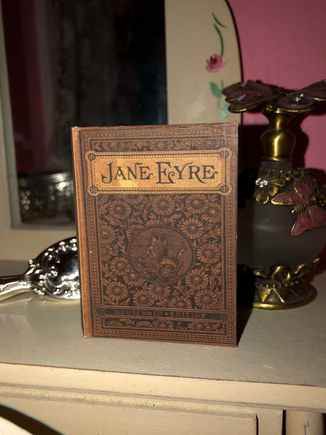 1:3 Scale Jane Eyre doll sized mini book for American Girl Dolls