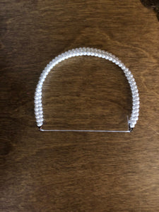 Pearl Double Strand Circlet Headband for American Girl 18 inch Dolls