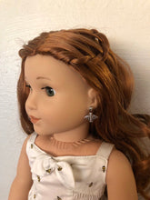 Load image into Gallery viewer, Honey Bee Earring Dangles for 18 inch American Girl Doll Blaire Wilson Girl of the Year