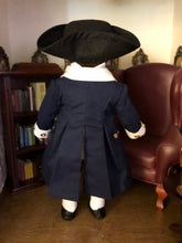 Load image into Gallery viewer, Made To Order: George Washington Revolutionary War Uniform  for American Girl Dolls