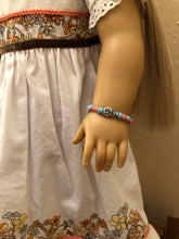 Load image into Gallery viewer, Owl Charm Bracelet for American Girl Dolls