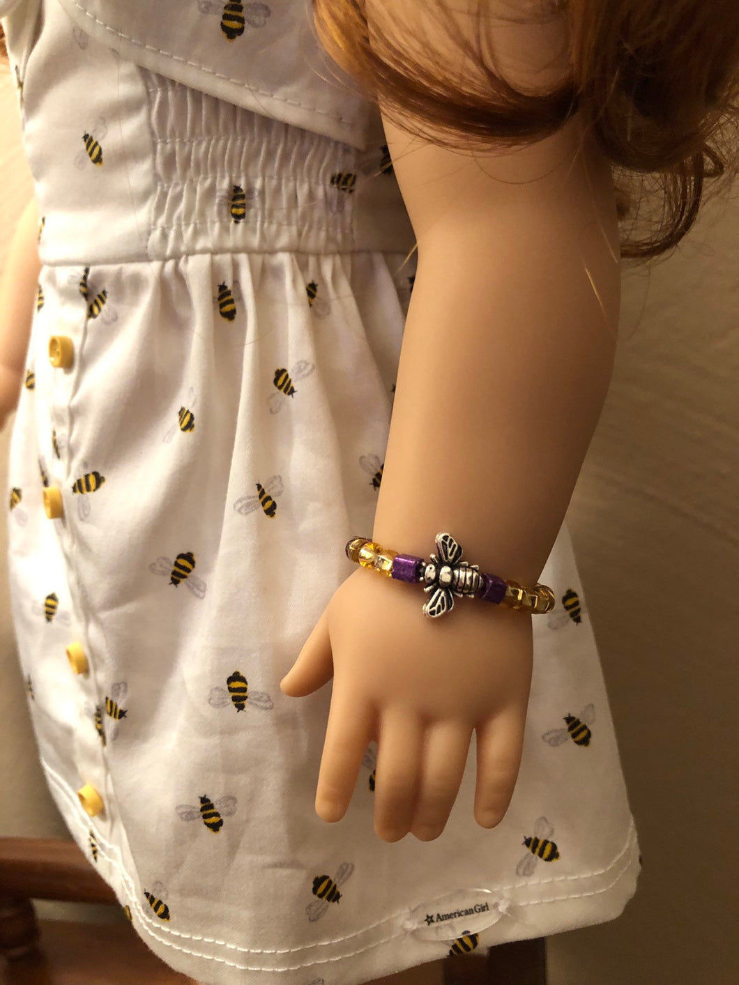 Bumble Bee Bracelet for American Girl of the Year Blaire Wilson