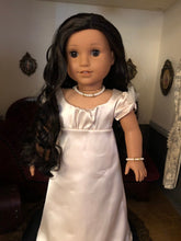 Load image into Gallery viewer, Fancy Pearl Diamond Necklace & Bracelet for 18 Inch American Girl Dolls