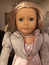 Load image into Gallery viewer, Pearl and Diamond Necklace for 18 inch American Girl Dolls