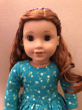 Load image into Gallery viewer, Purple Honeybee Circlet Headband for American Girl 18 inch Doll Jewelry