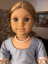 Load image into Gallery viewer, Pearl Necklace & Bracelet for 18 Inch American Girl Dolls