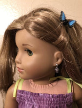 Load image into Gallery viewer, Turtle Earring Dangles for 18 inch American Girl Doll Lea Clark Girl of the Year