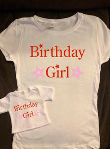 Girl & Doll Matching Star American Girl Birthday Shirts