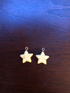 Yellow Star Earring Dangles for 18 inch American Girl Dolls