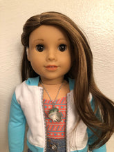 Load image into Gallery viewer, Conch Sea Shell Necklace for 18 inch American Girl Doll of the year 2020 Joss Kendrick