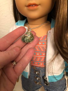 Conch Sea Shell Necklace for 18 inch American Girl Doll of the year 2020 Joss Kendrick