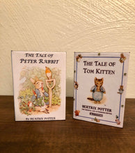 Load image into Gallery viewer, Peter Rabbit & Tom Kitten Miniature Books for American Girl Molly