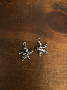 Silver Starfish Earring Dangles for 18 inch American Girl Dolls