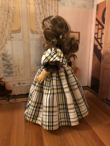Custom Order: Victorian Gown for 18 inch American Girl Dolls