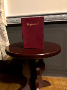 Miniature Christian Hymnal Book for American Girl Dolls