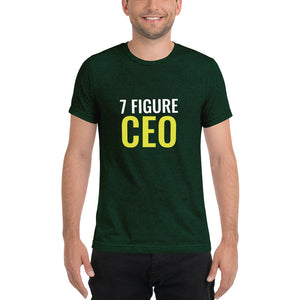 7 Figure CEO Trust Yourself Short sleeve t-shirt